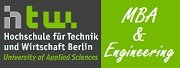 Master of Business Administration and Engineering (MBA&E),  HTW Berlin, Germany